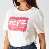 /achat-t-shirts/pepe-jeans-tee-shirt-femme-morgane-blanc-190298.html