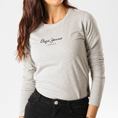 /achat-t-shirts-manches-longues/pepe-jeans-tee-shirt-manches-longues-femme-new-virginia-gris-chine-190303.html