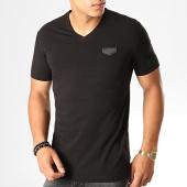 /achat-t-shirts/antony-morato-tee-shirt-col-v-logo-basic-mmks01423-noir-190465.html