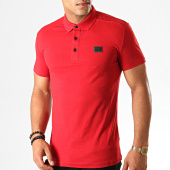 /achat-polos-manches-courtes/antony-morato-polo-manches-courtes-mmks01419-rouge-190469.html