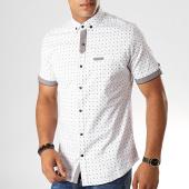 /achat-chemises-manches-courtes/black-needle-chemise-manches-courtes-y-3405-blanc-190501.html