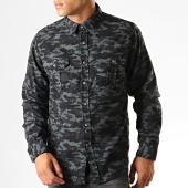 /achat-chemises-manches-longues/brave-soul-chemise-manches-longues-camouflage-york-gris-noir-190326.html