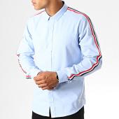 /achat-chemises-manches-longues/brave-soul-chemise-manches-longues-azure-bleu-clair-190336.html