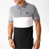 /achat-polos-manches-courtes/guess-polo-manches-courtes-m94p24-k93n0-gris-chine-blanc-noir-190355.html