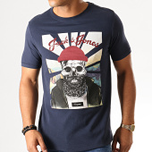 /achat-t-shirts/jack-and-jones-tee-shirt-slim-skoll-bleu-marine-190390.html