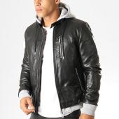 /achat-vestes-biker/terance-kole-veste-biker-capuche-79718-noir-gris-chine-190372.html