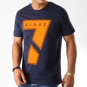 /achat-t-shirts/7-binks-tee-shirt-seven-bleu-marine-orange-190670.html