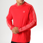 /achat-t-shirts-manches-longues/adidas-tee-shirt-manches-longues-avec-bandes-3-stripes-ej9688-rouge-190661.html