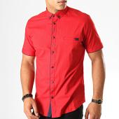 /achat-chemises-manches-courtes/black-needle-chemise-manches-courtes-y-3400-rouge-190507.html