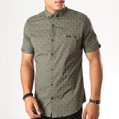 /achat-chemises-manches-courtes/black-needle-chemise-manches-courtes-y-3399-vert-kaki-190513.html