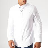 /achat-chemises-manches-longues/black-needle-chemise-manches-longues-y-3391-blanc-190515.html