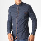 /achat-chemises-manches-longues/black-needle-chemise-manches-longues-y-3409-bleu-marine-190544.html