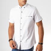 /achat-chemises-manches-courtes/black-needle-chemise-manches-courtes-y-3397-blanc-190556.html