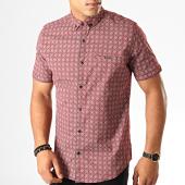 /achat-chemises-manches-courtes/black-needle-chemise-manches-courtes-y-3399-bordeaux-190557.html