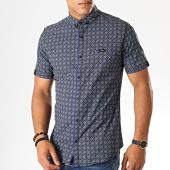 /achat-chemises-manches-courtes/black-needle-chemise-manches-courtes-y-3399-noir-bleu-marine-190558.html