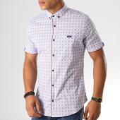 /achat-chemises-manches-courtes/black-needle-chemise-manches-courtes-y-3399-blanc-190559.html
