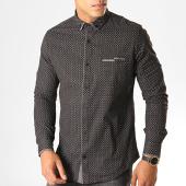 /achat-chemises-manches-longues/black-needle-chemise-manches-longues-y-3408-noir-190564.html