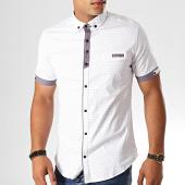 /achat-chemises-manches-courtes/black-needle-chemise-manches-courtes-y-3403-blanc-190573.html