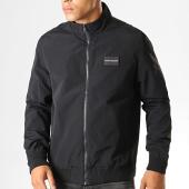 /achat-vestes/calvin-klein-jeans-veste-zippee-harrington-2644-noir-190587.html