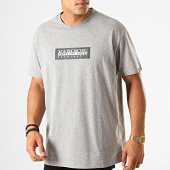 /achat-t-shirts/napapijri-tee-shirt-sox-kbs160-gris-chine-190615.html