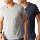 /achat-t-shirts/kaporal-lot-de-2-tee-shirts-gift-bleu-marine-gris-chine-190855.html