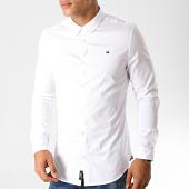 /achat-chemises-manches-longues/kaporal-chemise-manches-longues-mato-blanc-190870.html