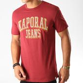 /achat-t-shirts/kaporal-tee-shirt-olrik-bordeaux-190895.html