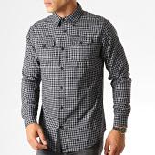 /achat-chemises-manches-longues/mz72-chemise-manches-longues-a-carreaux-domta-gris-noir-190888.html