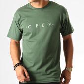 /achat-t-shirts/obey-tee-shirt-novel-vert-190698.html