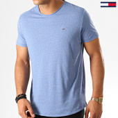/achat-t-shirts/tommy-hilfiger-jeans-tee-shirt-essential-jaspe-4792-bleu-clair-chine-190839.html