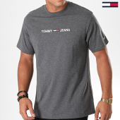 /achat-t-shirts/tommy-hilfiger-jeans-tee-shirt-small-logo-7231-gris-anthracite-chine-190841.html