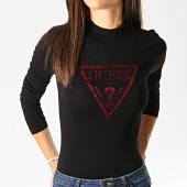 /achat-t-shirts-manches-longues/guess-body-femme-w94p73-k7dk0-noir-bordeaux-190939.html