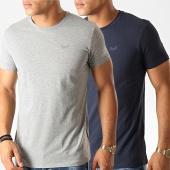 /achat-t-shirts/kaporal-lot-de-2-tee-shirts-rift-bleu-marine-gris-chine-190900.html