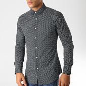 /achat-chemises-manches-longues/mtx-chemise-manches-longues-s7219-noir-blanc-190999.html
