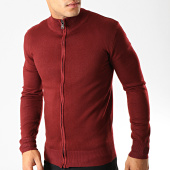 /achat-cardigans-gilets/mtx-gilet-zippe-hl8856-bordeaux-191006.html
