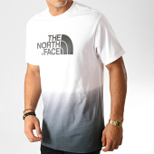 /achat-t-shirts/the-north-face-tee-shirt-dye-3xzc-blanc-noir-degrade-190993.html