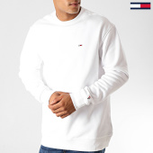 /achat-sweats-col-rond-crewneck/tommy-jeans-sweat-crewneck-classics-4469-blanc-190980.html
