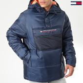 /achat-doudounes/tommy-sport-doudoune-block-insulation-0264-bleu-marine-191045.html