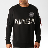 /achat-sweats-col-rond-crewneck/alpha-industries-sweat-crewneck-nasa-reflective-noir-191237.html