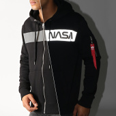 /achat-sweats-zippes-capuche/alpha-industries-sweat-zippe-capuche-reflechissant-nasa-rs-198321-noir-191254.html