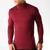 /achat-pulls/mtx-pull-col-roule-32086-bordeaux-191080.html