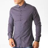 /achat-chemises-manches-longues/mtx-chemise-manches-longues-s7338-bleu-marine-191081.html