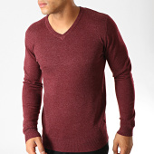 /achat-pulls/mtx-pull-col-v-hl8175-bordeaux-chine-191146.html