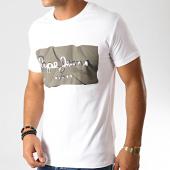 /achat-t-shirts/pepe-jeans-tee-shirt-slim-raury-blanc-vert-kaki-191139.html