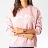 /achat-sweats-col-rond-crewneck/pepe-jeans-sweat-crewneck-femme-nanete-rose-clair-chine-blanc-191151.html