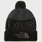 /achat-bonnets/the-north-face-bonnet-retro-tnf-pom-pom-noir-191140.html