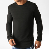 /achat-t-shirts-manches-longues/uniplay-tee-shirt-manches-longues-oversize-uy428-noir-191179.html
