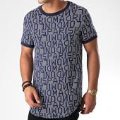 /achat-t-shirts-longs-oversize/uniplay-tee-shirt-oversize-uy422-bleu-marine-191186.html