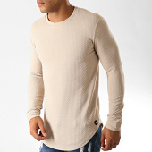 /achat-t-shirts-manches-longues/uniplay-tee-shirt-manches-longues-oversize-uy428-beige-191200.html