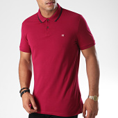 /achat-polos-manches-courtes/calvin-klein-jeans-polo-manches-courtes-tipping-badge-pima-3787-violet-191487.html
